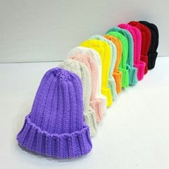 핑크 다홍 데일리 꾸안꾸 패션 와치캡 비니 모자
