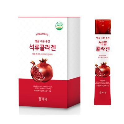 참가네 초저분자 석류 콜라겐 젤리스틱 22g 15포 4박스