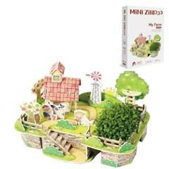 Zilipoo Farm 3D Puzzle / 지리포 미니농장 꾸미기