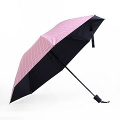 큐브패턴 3단 우산/ 자외선차단 양우산