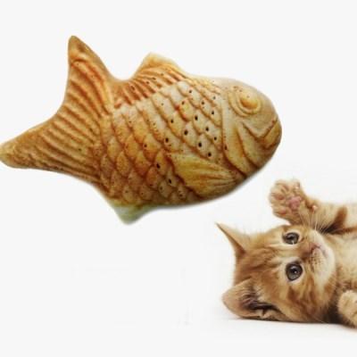 두리뭉실 리얼 붕어빵 강아지 고양이 쿠션 인형