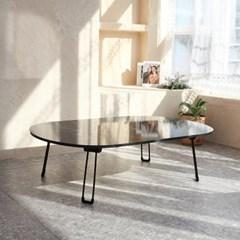 라운드 프리미엄 접이식 테이블 120x80cm