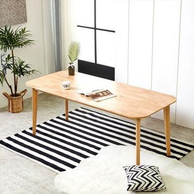 덴버 원목식탁 테이블 1800
