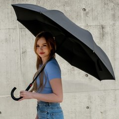 [WAPOOF]실속형 자동 거꾸로 우산 더욱 편리해진 와푸 U_(1410755)