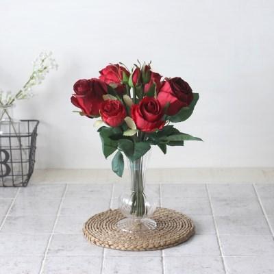 장미 조화 레니화병세트(3color)