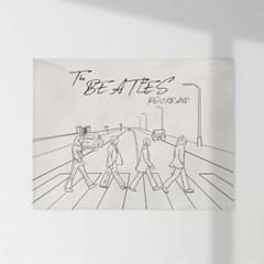 인테리어 패브릭 포스터_비틀즈