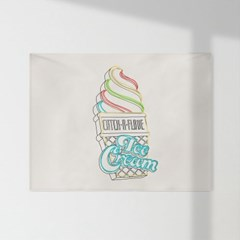 인테리어 패브릭 포스터_아이스크림