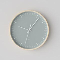 자작나무 ARCTIC민트 무소음벽시계