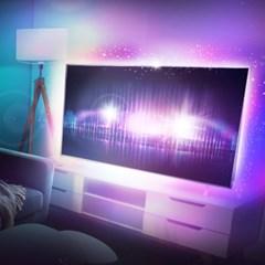 USB LED 16색 RGB 컬러 TV 모니터 간접 라인조명
