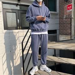 [1+1특가]쭈리 피그먼트 후드 + 쭈리 피그먼트 조거팬츠 4color