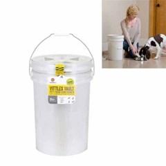 감마2 비틀볼트 버켓25 강아지 사료보관함 약11kg