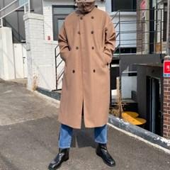 프리미엄 샤인 더블 롱 무스탕 코트 2color