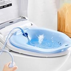 좌욕기 수동펌프 장착 가정용좌욕기