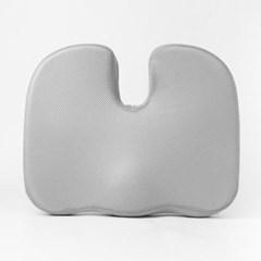 바른자세 메모리폼 골반 방석(그레이) /의자방석