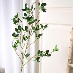 그린잎 롱 나무가지 조화_(2152022)