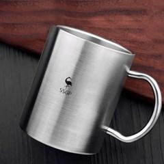[쿠킹스]이중진공 올스텐 머그 캠핑 보온 물컵