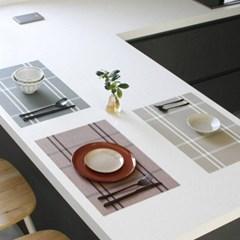 체크 테이블매트 식탁매트 (3colors)_(2150536)