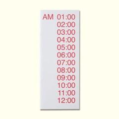 LIST 02-24 hours