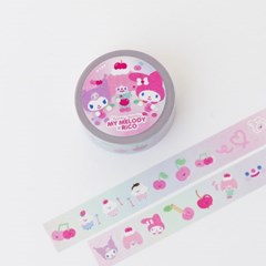 MY MELODY x RiCO MASKINGTAPE - CHERRY PARTY