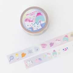 HELLO KITTY x RiCO MASKINGTAPE - HAPPY CUTIE LAB