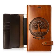 켈란 (생명의나무) 아이폰11 프로 가죽케이스 (전기종제작)
