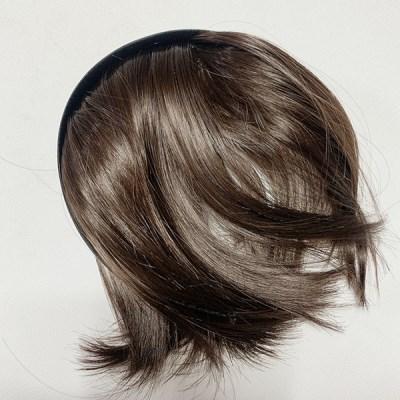 두리뭉실 여자 앞머리 가발 머리띠 붙임머리 풀뱅