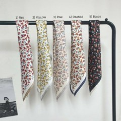 실키 꽃무늬 가방 미니 쁘띠 데일리 미시 패션 스카프
