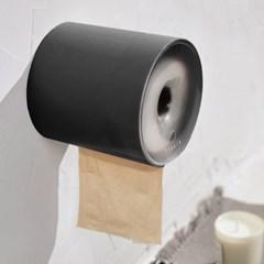 동그라미 휴지디스펜서/ 접착식 화장실 방수 휴지걸이