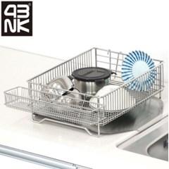 스텐 물빠짐식기건조대 원룸 컵 설거지통 그릇정리대 설_(589973)