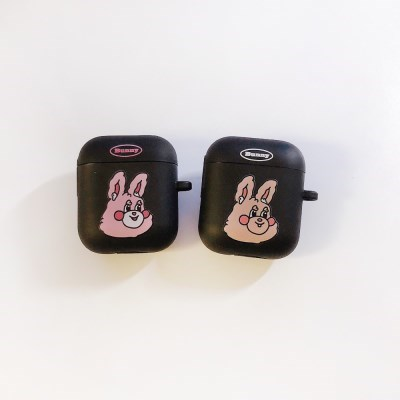 BUNNY AIRPODCASE BLACK (1/2/PRO)