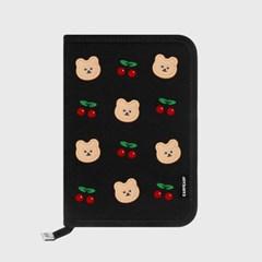 Dot cherry covy-black(슬리브 다이어리)_(1762718)