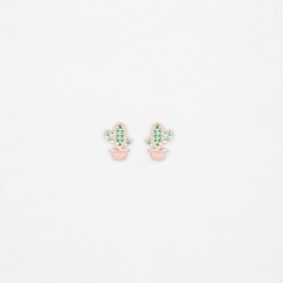 [쥬디앤폴] 보떼 만세 선인장 포스트 귀걸이 E51704