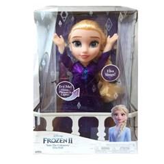 정품 디즈니 겨울왕국2 노래하는 엘사 인형
