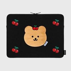 Cherry covy-black(15인치 노트북파우치)_(1762663)