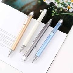 메탈유광 원형 0.5mm 젤펜 - 4가지 색상