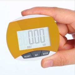 스마트 디지털 만보기(옐로우) / 칼로리 만보계