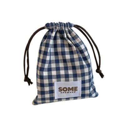 check string pouch (navy)