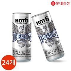롯데칠성 핫식스 더킹포스 355ml x 24캔