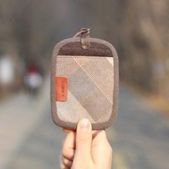 퀼트패키지 - 유로멀티ID 카드지갑 (소프트핑크)