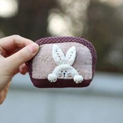 퀼트패키지 - 토끼 동전지갑