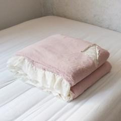 베르사유 최고급 극세사 담요 / 핑크 2size
