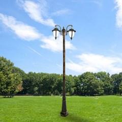 LED 정원 가로등 베르사유 2등 2.6m 야외조명_(2032773)
