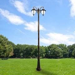 LED 정원 가로등 베르사유 2등 2.9m 야외조명_(2032772)