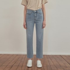 Washed Denim Pants - Blue