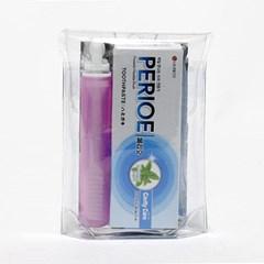 치약 칫솔 여행용세트(소)/찜질방납품용 목욕탕판매