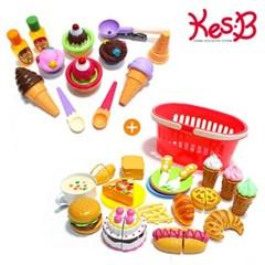 [캐스B]플레이 아이스크림 디저트세트+해피 베이커리