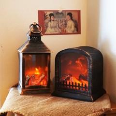 [장작무드등] LED 불타는 벽난로 모닥불 조명 가정용 집에서 불멍