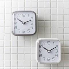 [바나나공방]디지타일(Digi+Tile) 욕실, 키친, 탁상 겸용 흡착시계
