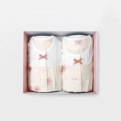 [메르베] 벚꽃 아기 돌선물세트(내의+수면조끼)_여름용(_(1593988)