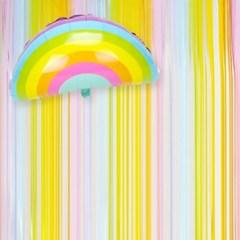파티를 빛내줄 레인보우 벽장식 (1개)